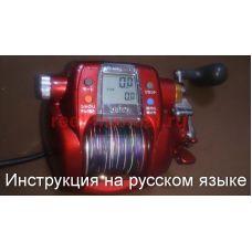 Перевод инструкции катушки Daiwa Hyper Tanacom 750Fe