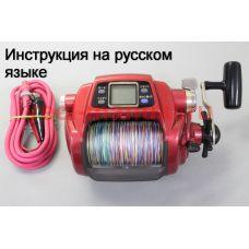 Перевод инструкции катушки Daiwa Seaborg Bull 1000